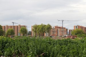 GAA Lineardekanter Neubausiedlung Bogota